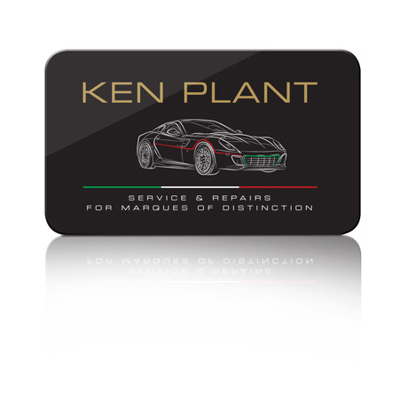 Forza - Ken Plant brand and logo design