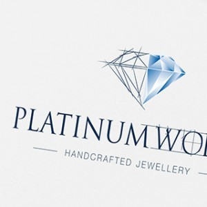 Brand and logo design by Forza! design agency Cork for Platinum works