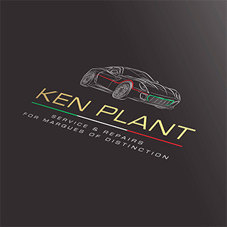 Ken Plant brand design work by Forza! design agency in Cork
