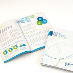 Forza! Creative graphic designers Cork design beautiful brochures