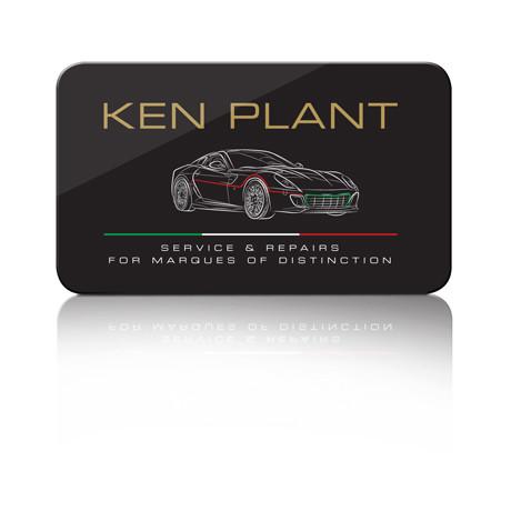 Forza - Ken Plant brand and logo design
