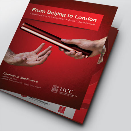 Forza! design agency Cork provided a conference programme design for UCC