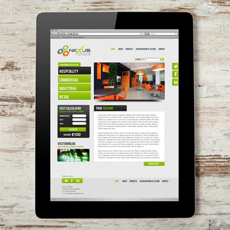 Forza - Nexus web design