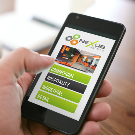 Forza! web and graphic design agency Cork created a mobile friendly website for Nexus