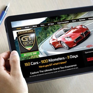 Automotive web design cork portfolio website