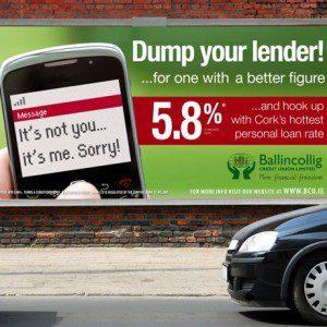 Forza Ballingcollig Credit Union Billboard