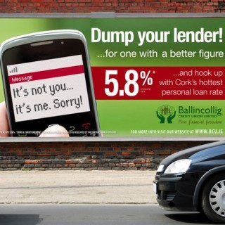 Forza Ballingcollig Credit Union Billboard