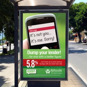 Forza Ballingcollig Credit Union Bus Stop