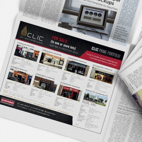 Forza! were recently tasked with developing a suite of marketing materials for our client, Downing Commercial