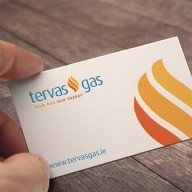 Forza! branding agency Cork provided new brand identity for the company, along with a supporting logo tagline for Tervas Gas