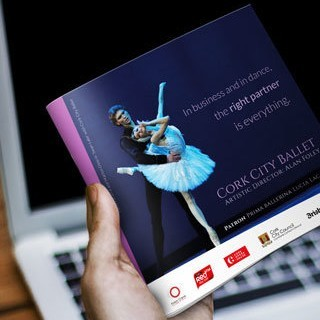 Forza! design agency in Cork provided Cork City Ballet – Website and Brochure design