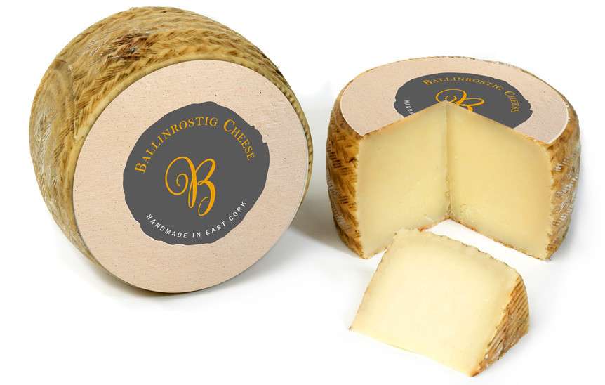 Forza! design agency in Cork provided Brand Identity & Packaging design for Ballinrostig Cheese