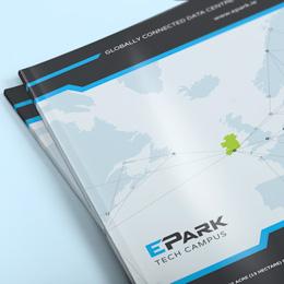 epark thumb brochure design by Forza!