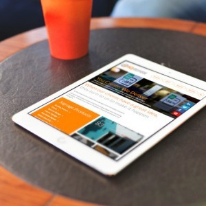 Forza! web and graphic design agency Cork provided a web design for IQ Group