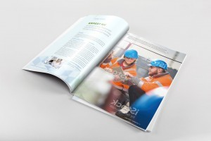 A A Magazine Spread Mockup A