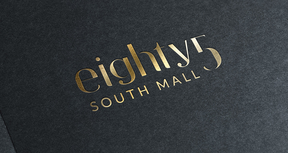 Forza! design agency in Cork provided brand identity design for 85 South Mall