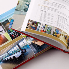 Brochure design and turnkey solutions for JCD by Forza! Cork