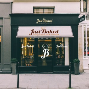 Forza! branding design agency in Cork did a branding design package for Just Baked