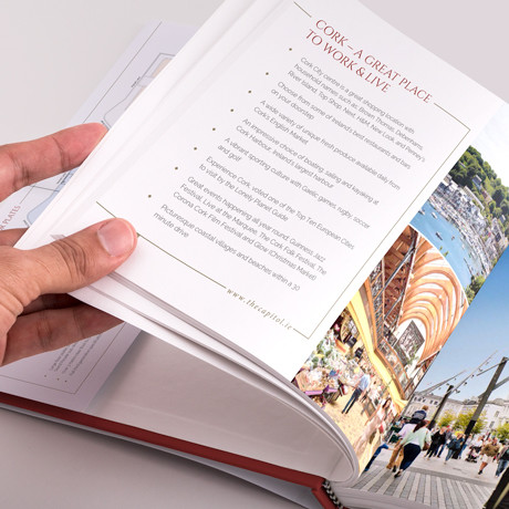 Forza! creative agency in Cork provided branding and brochure design to The Capitol