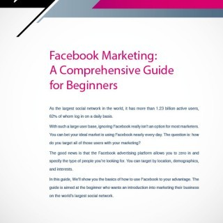 facebook marketing guide design by Forza! Cork