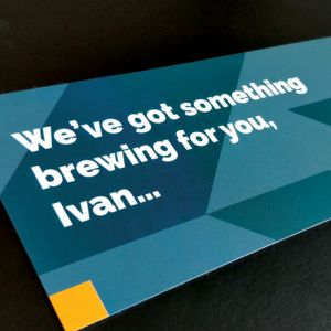 Forza! direct mail and creative specialists in Cork provided Premium Direct Marketing Mail for Mobileum