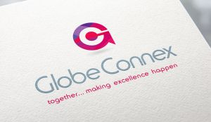 globeconnex brand MockUp design by Forza! Cork