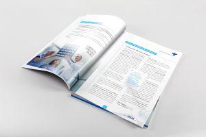 bonsA A Magazine Spread Mockup A design by Forza! Cork