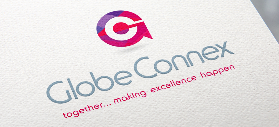 Forza! branding design agency in Cork did a full branding package for Glob Connex