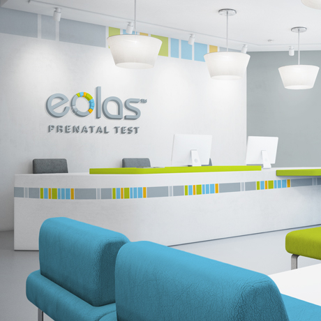 Forza! branding design agency in Cork did a branding design for Eolas