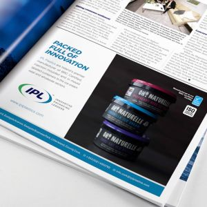 Forza! Creative agency in Cork did brochure designs for trade advertising for IPL